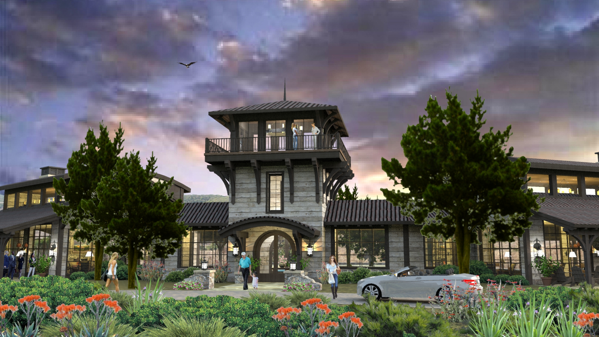 The Canyons Clubhouse (Conceptual Design)
